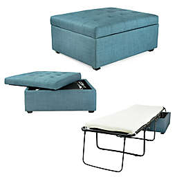 iBed Convertible Ottoman Bed