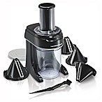 Hamilton Beach® Spiralizer 6-Cup Food Processor in Black