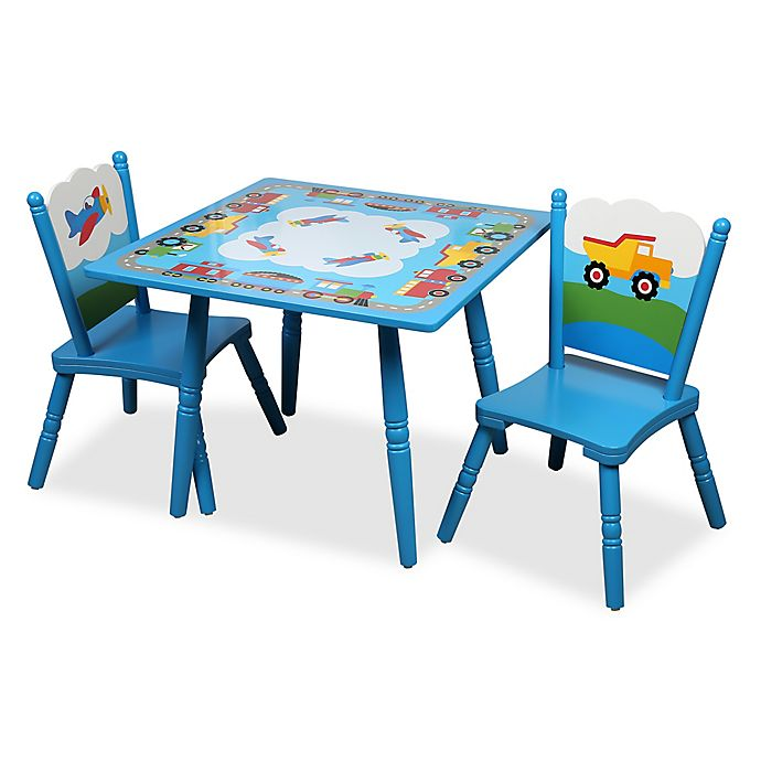 Pleasant Olive Kids Trains Planes Trucks Table And Chairs Set In Alphanode Cool Chair Designs And Ideas Alphanodeonline