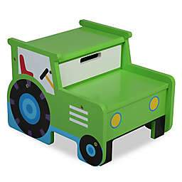 Olive Kids™ Tractor Step 'N Store in Green