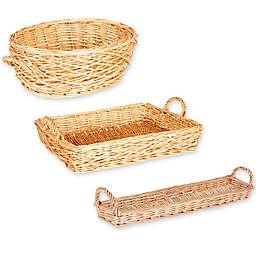 Household Essentials® Decorative Wicker Basket Collection