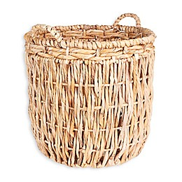 Household Essentials® Tall Round Floor Basket with Handles