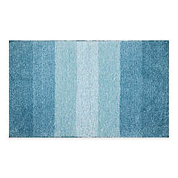 Ombré Striped Bath Mat