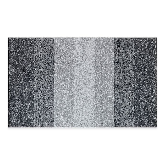 Black And White Rugs Adelaide: Buy Adelaide Ombré Striped 20-Inch X 33-Inch Bath Mat In