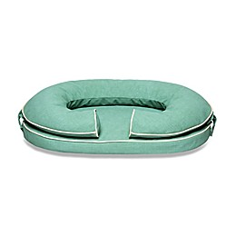 Katherine Elizabeth Orthopedic Pet Bed with Bolster in Caribbean