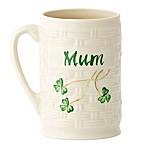 Belleek Shamrock  Mum  Mug