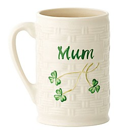 "Belleek Shamrock ""Mum"" Mug"