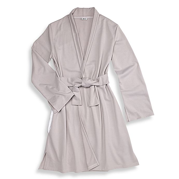 Alternate image 1 for SELF® Body Care Travel Robe in Grey
