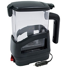 Roadpro® 20 oz. Smart Car Heated Beverage Pot in Black