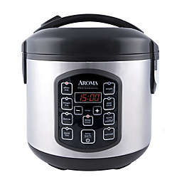 Aroma® Professional™ Cool Touch 8-Cup Rice Cooker in Stainless Steel