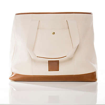 Brouk & Co. The Everyday Tote Bag in Cream