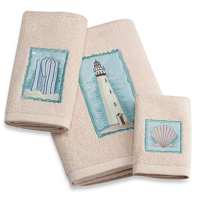 Croscill Hand Towels: Croscill® Coastal Collage Bath Towels