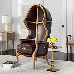 Safavieh Couture Sabine Chair in Brown