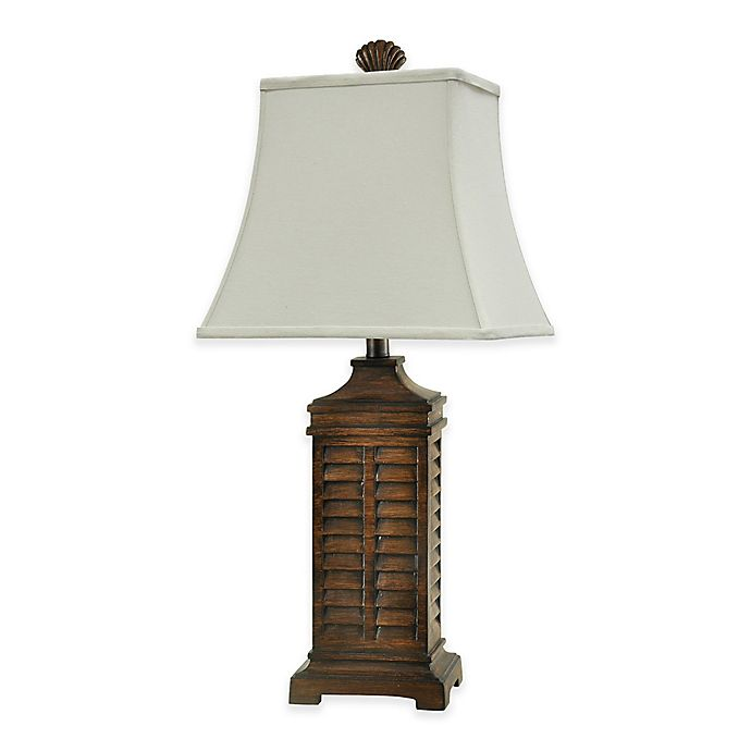 Alternate image 1 for Coastal Shutter Table Lamp
