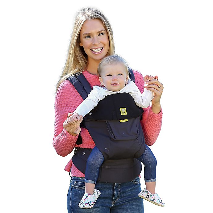 Lillebaby Complete Original Baby Carrier In Charcoal Black Bed