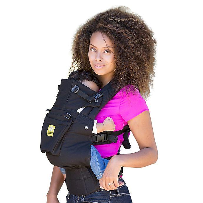 Alternate image 1 for lillebaby® COMPLETE™ Original Baby Carrier in Black
