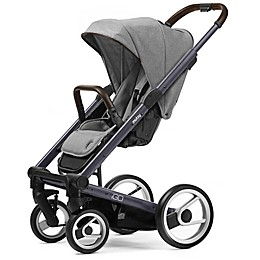 Mutsy Igo Stroller in Dark Grey/Farmer Mist