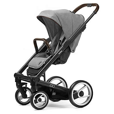 Mutsy Igo Stroller in Black/Farmer Mist