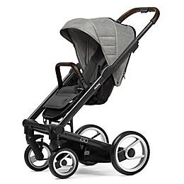 Mutsy Igo Stroller in Black/Heritage Dawn