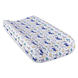 Trend Lab® Dr. Seuss™ New Fish Changing Pad Cover in Blue/Green