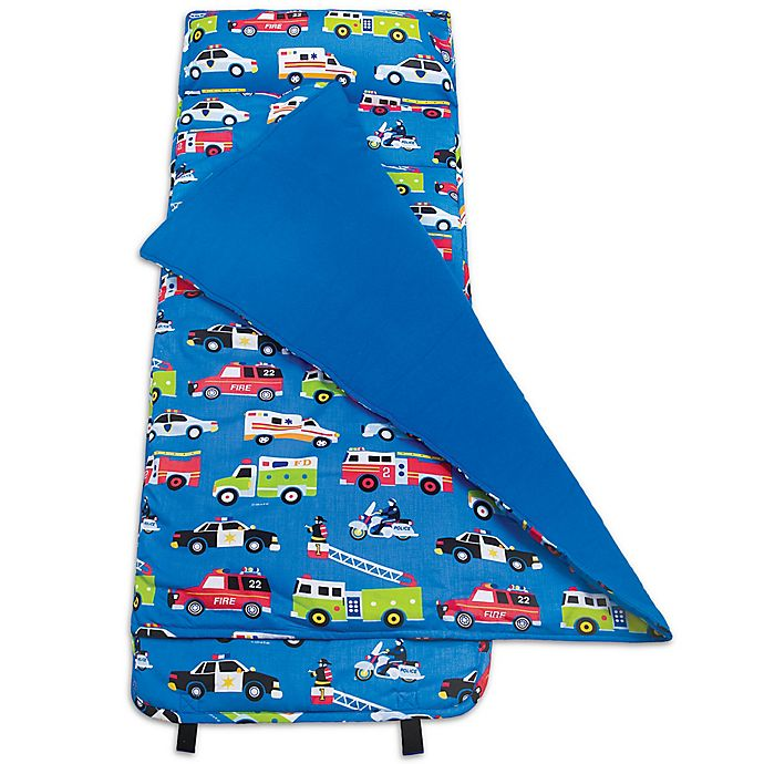 Alternate image 1 for Olive Kids Heroes Nap Mat in Blue