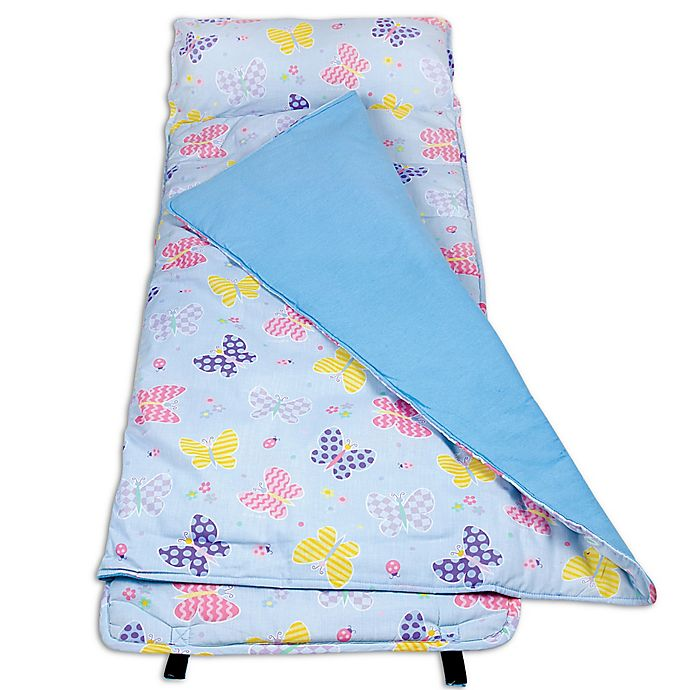 Alternate image 1 for Olive Kids Butterfly Garden Nap Mat in Blue