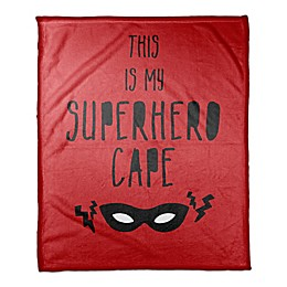 Designs Direct Superhero Cape Throw Blanket