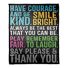 Designs Direct Be Awesome Throw Blanket