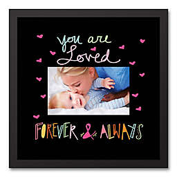 """Designs Direct Be Bold Collection 12-Inch x 12-Inch """"You Are Loved"""" Canvas Image Box"""