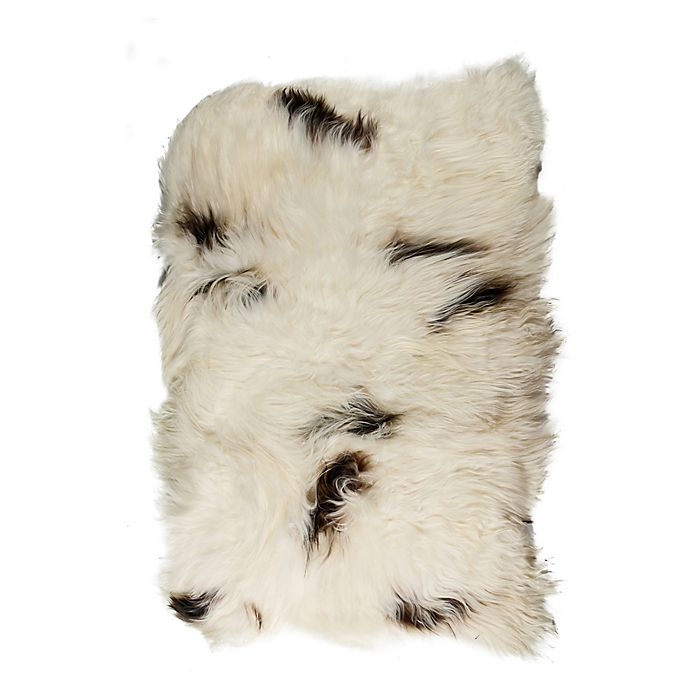 Icelandic Sheepskin Square Patch 4-Foot
