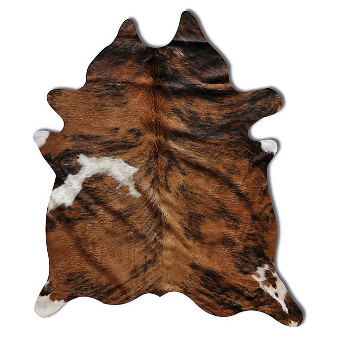 Alternate image 1 for Natural Rugs Kobe Cowhide 6-Foot x 7-Foot Area Rug