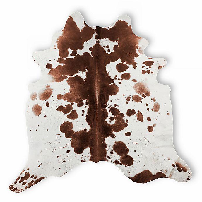 Alternate image 1 for Natural Rugs Kobe Cowhide 6-Foot x 7-Foot Area Rug in Salt and Pepper/Brown