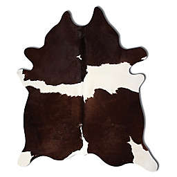 Natural Rugs Kobe Cowhide 6-Foot x 7-Foot Area Rug