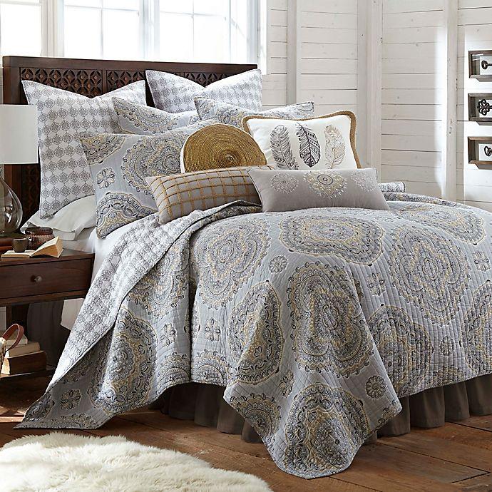 Alternate image 1 for Levtex Home Miren Reversible Twin Quilt Set in Grey