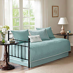 Madison Park Peyton Daybed Set in Teal