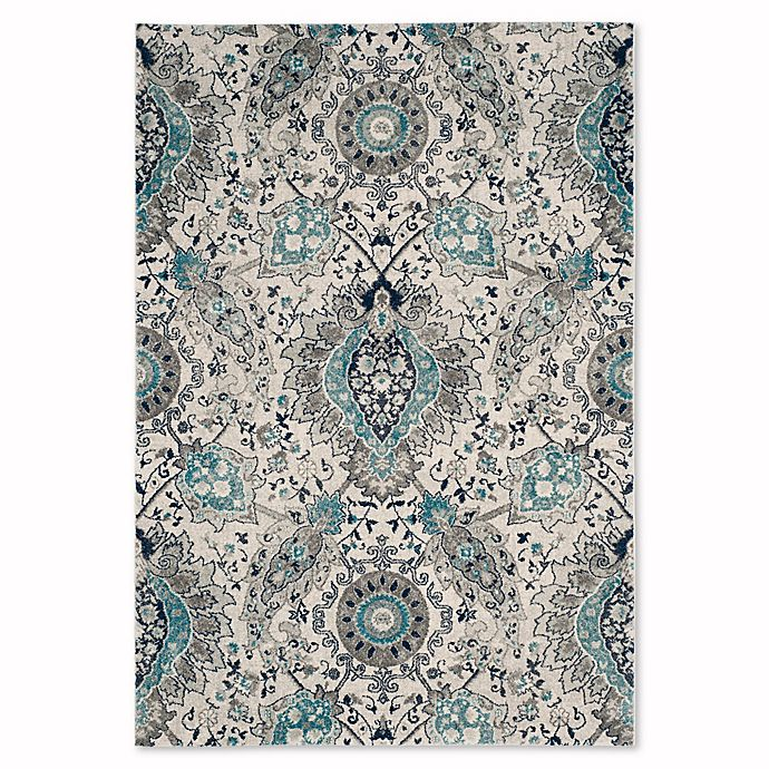 Alternate image 1 for Safavieh Madison Gilly 5-Foot 1-Inch x 7-Foot 6-Inch Area Rug in Cream/Light Grey