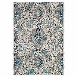 Safavieh Madison Gilly 5-Foot 1-Inch x 7-Foot 6-Inch Area Rug in Cream/Light Grey