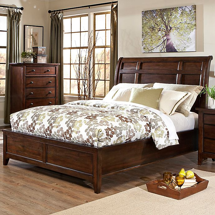 Buy Intercon Jackson King Sleigh Bed From Bed Bath & Beyond