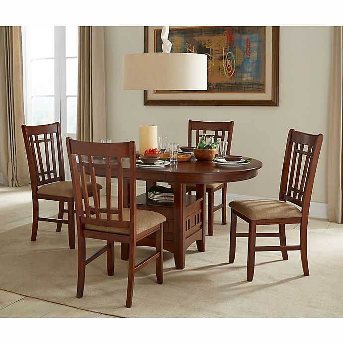 Intercon Furniture Mission Casuals Dining Collection In Dark Oak