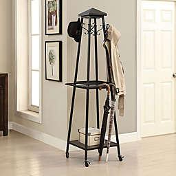 Madison Standing Coat Rack in Black