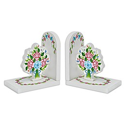 Fantasy Fields Bouquet Bookends Set
