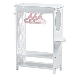 Olivia's Little World Princess Of Hearts 18-Inch Doll Wardrobe in White