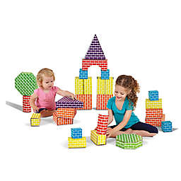 Edushape® 45-Piece Corrugated Shapes