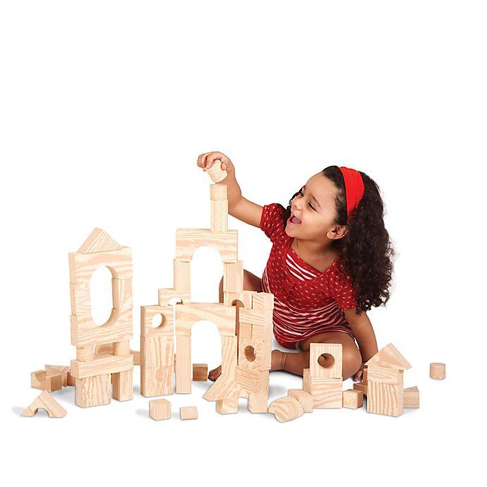 Alternate image 1 for Edushape® 30-Piece Wood-Like Soft Blocks