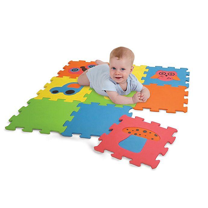 Alternate image 1 for Edushape Baby Edu-tiles