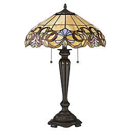 Quoizel Blossom Table Lamp in Imperial Bronze