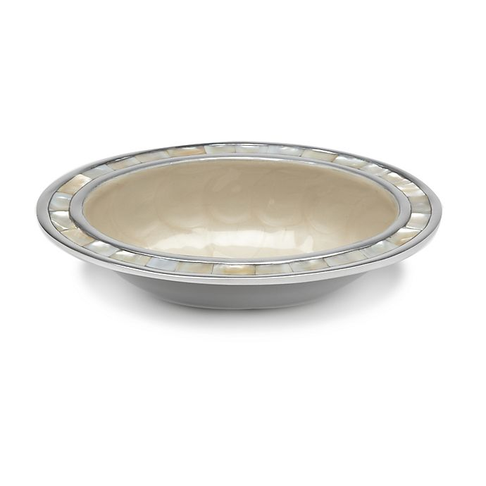 Alternate image 1 for Julia Knight® Classic 8-Inch Oval Bowl in Snow