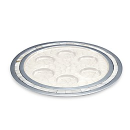 Julia Knight® Classic 12-Inch Seder Plate in Snow