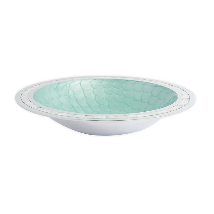Alternate image 1 for Julia Knight® Classic 15-Inch Round Bowl in Aqua