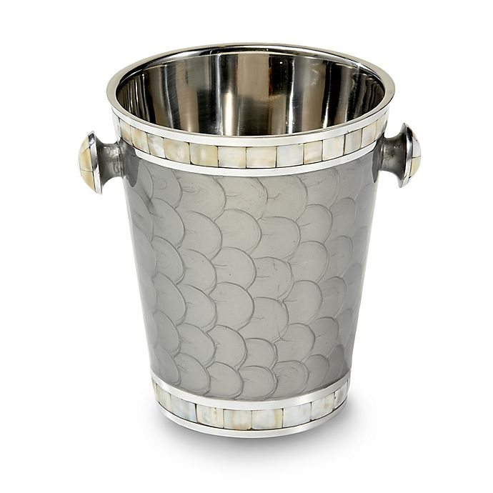Alternate image 1 for Julia Knight® Classic Ice Bucket/Wine Chiller in Platinum